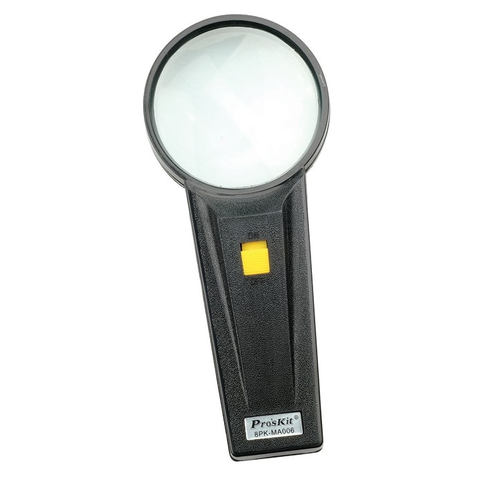 Lighted Magnifier  -  Round