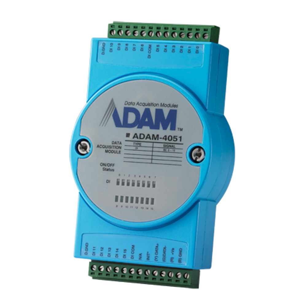 16-Channel Iso Digital Input w/ LED Module (Modbus) (RoHS)