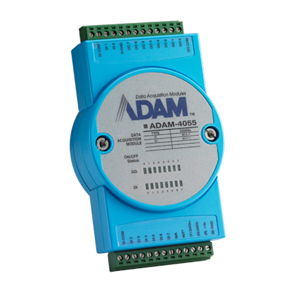16-CHANNEL ISO DIGITAL I/O W/ LED MODULE (MODBUS) (ROHS)