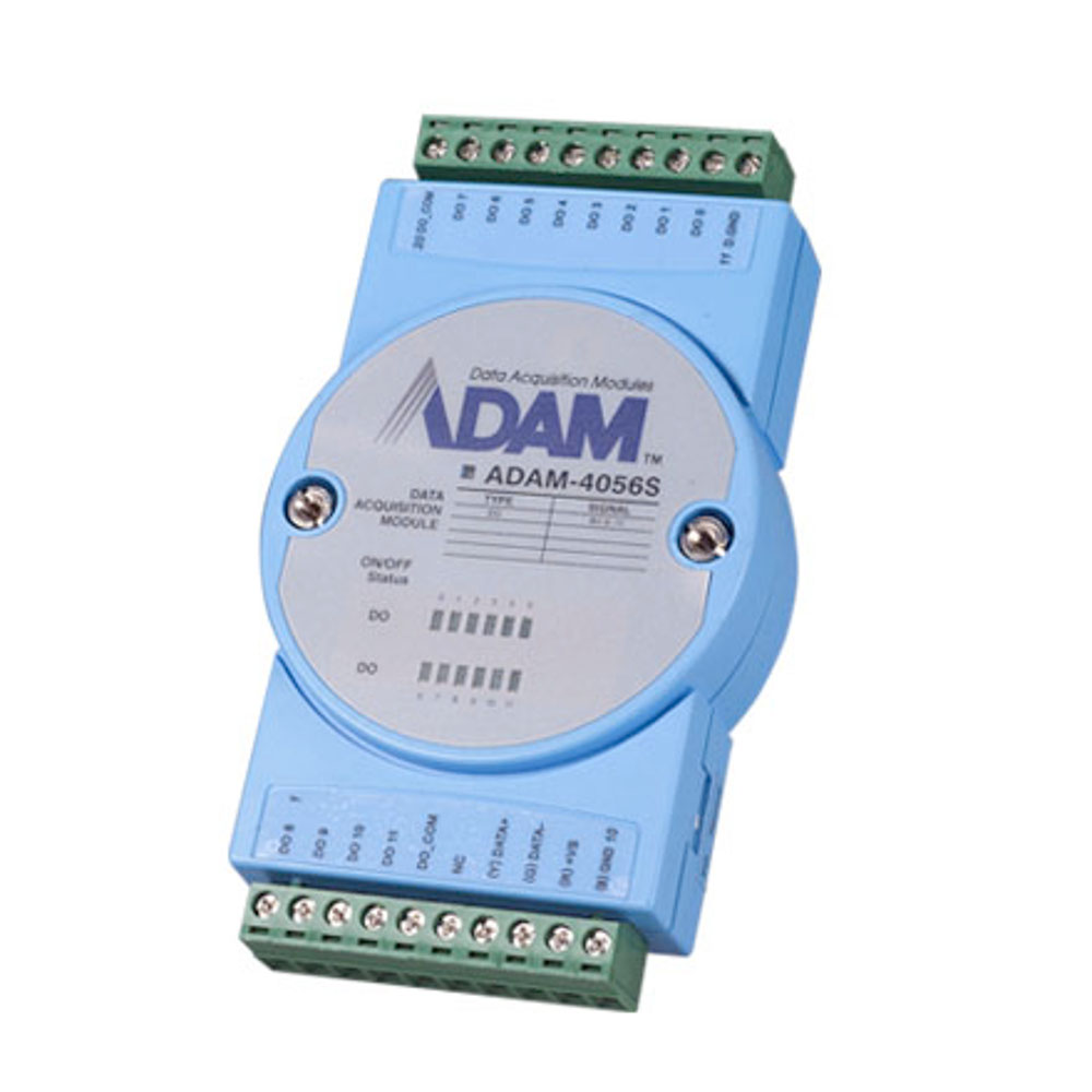 12-CHANNEL SOURCING ISO DIGITAL OUTPUT (MODBUS) (ROHS)