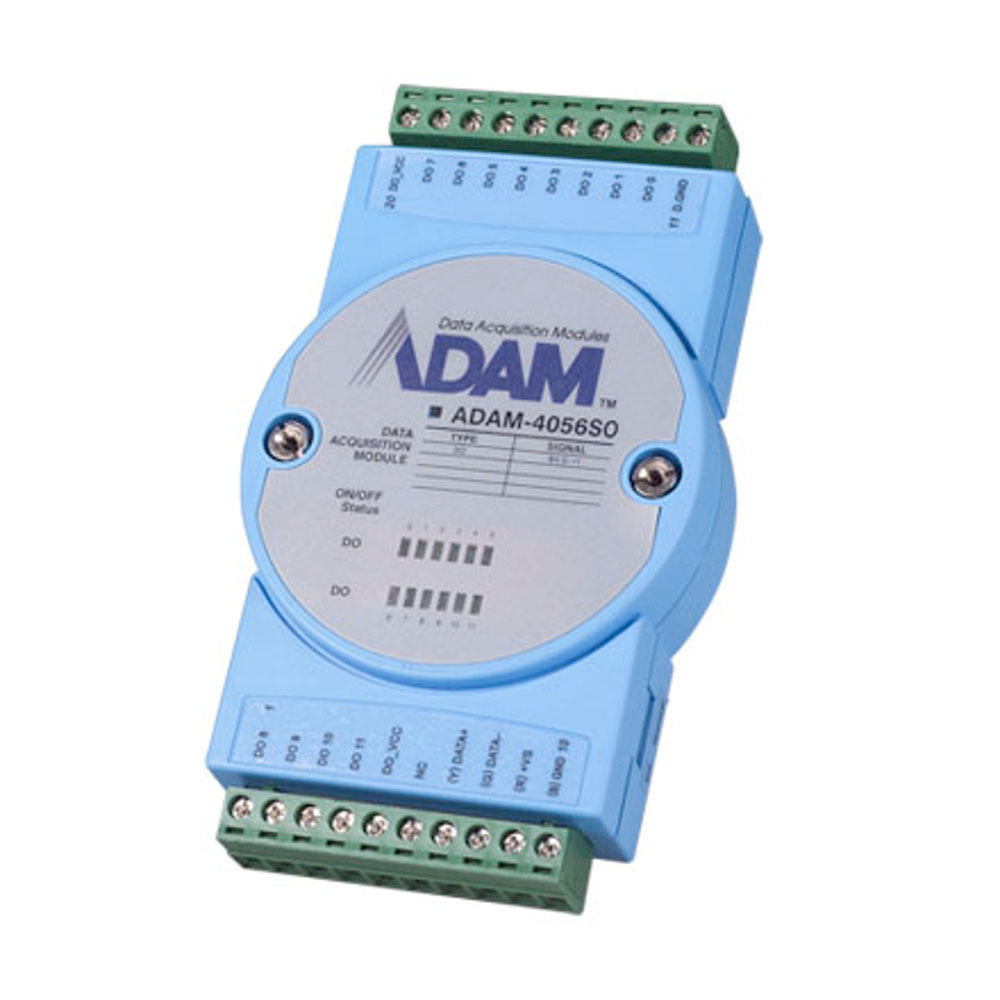 12-CHANNEL SINKING ISO DIGITAL OUTPUT (MODBUS) (ROHS)