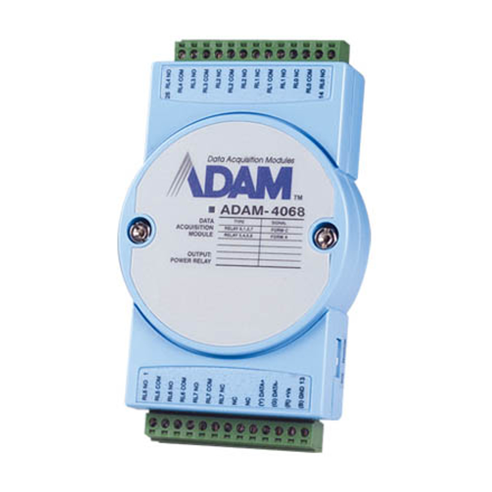 8-CHANNEL RELAY OUTPUT MODULE (MODBUS) (ROHS)