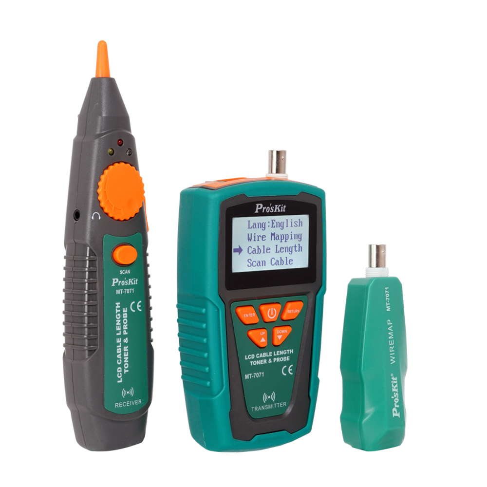 LCD Cable Length Toner & Probe