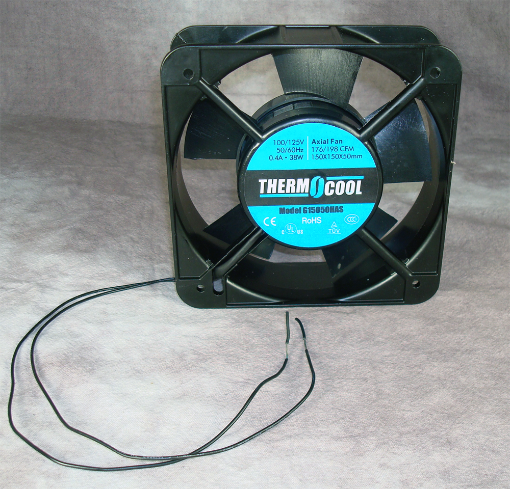 AC FAN150 X 150 X 50 MM, SLEEVE