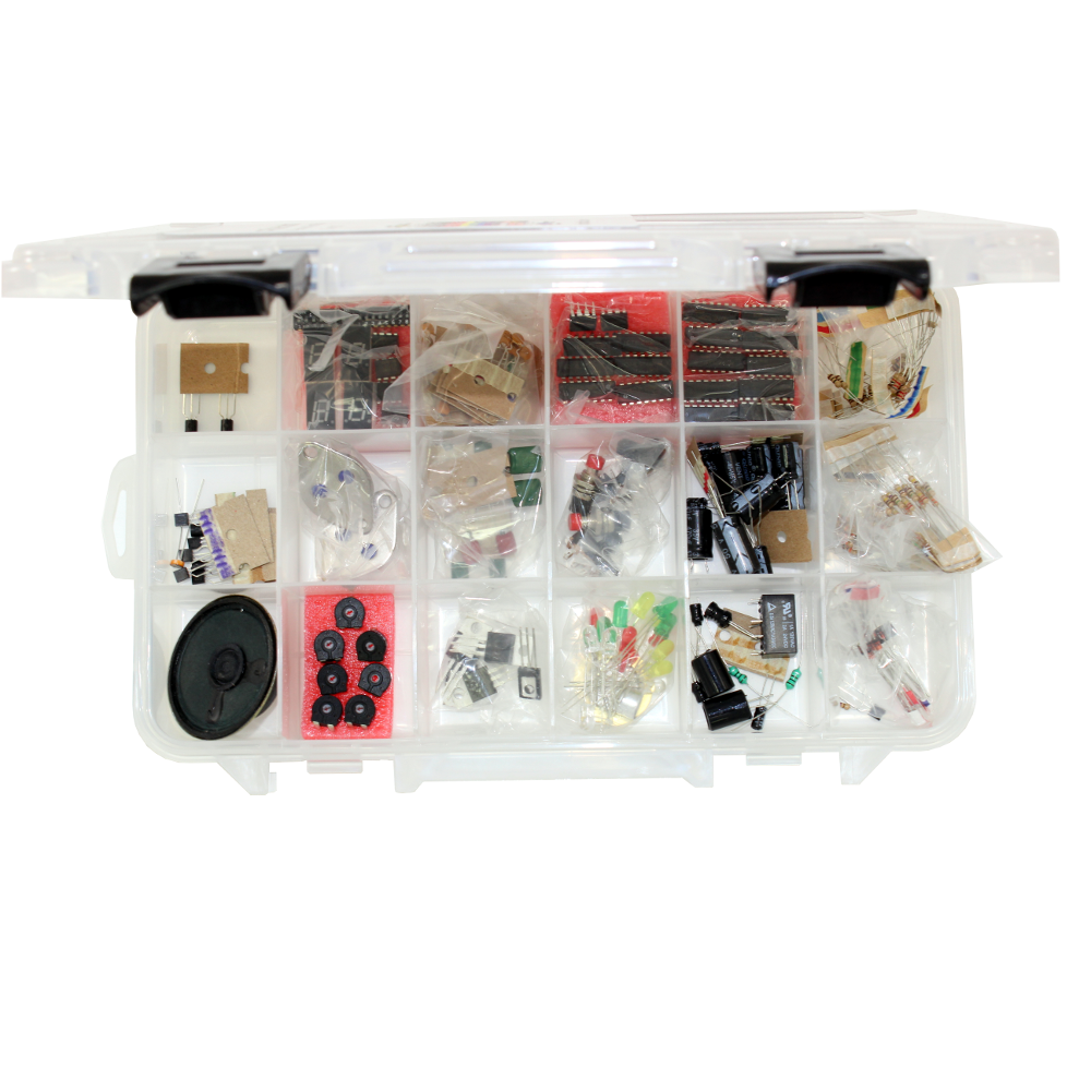 Essential Electronic Parts Kit From Circuit Specialists Electrical Kits