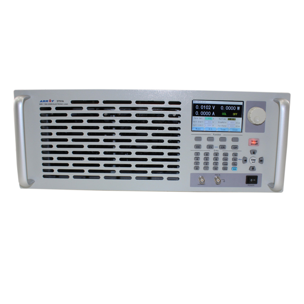 Array 3750A 1.5kW DC Programmable Electronic Load