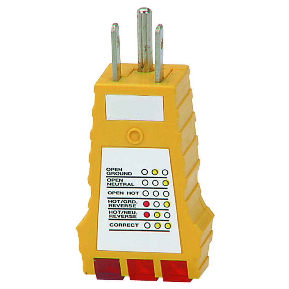 Specialty Test Equipment Thermometers Testers Cameras Auto Electrical Wiring Tester Receptacle