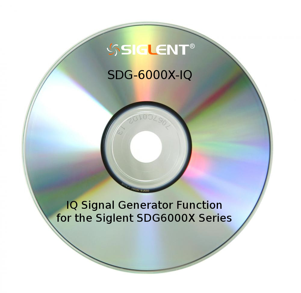 IQ SIGNAL GENERATOR FUNCTION FOR THE SDG6000X SERIES