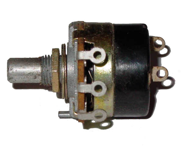 50K Ohm Linear Taper Potentiometer with Switch