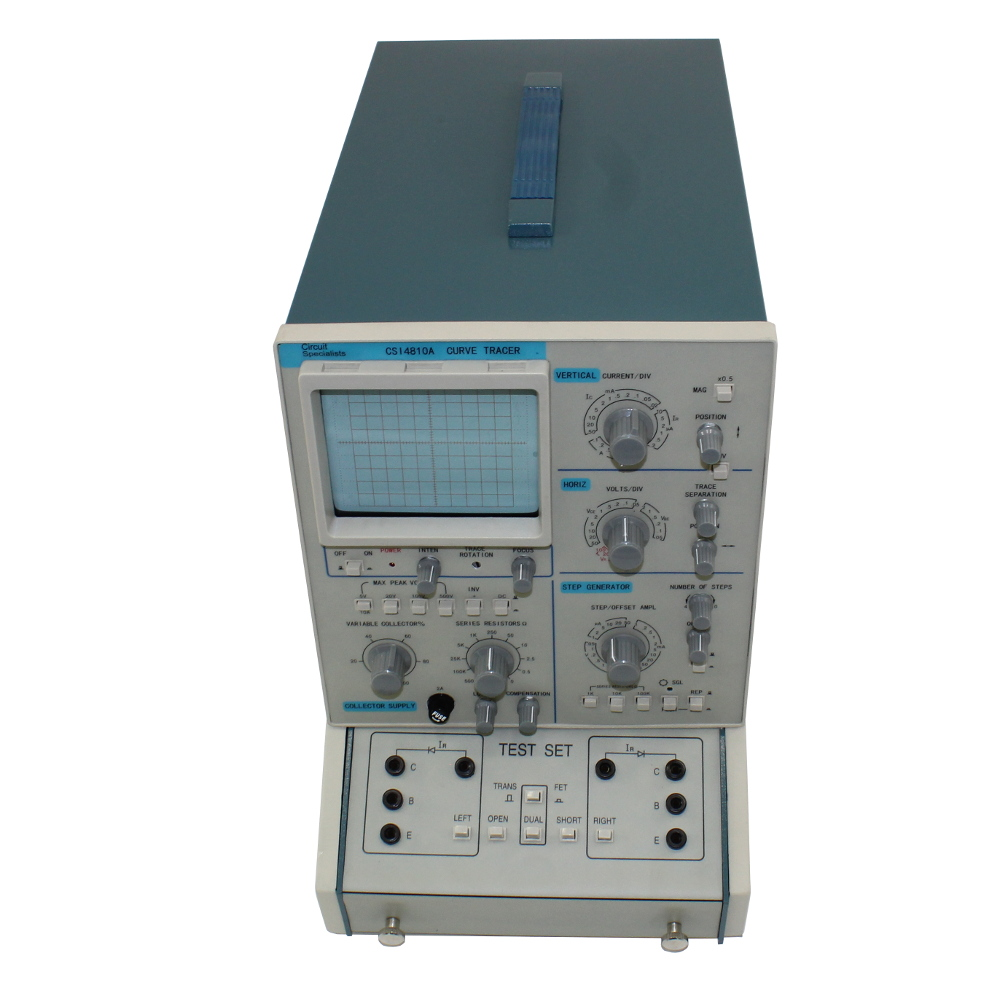 Csi8410a Transistor Curve Tracer Featured Electrical Circuit Tracers And Testers At Test Equipment