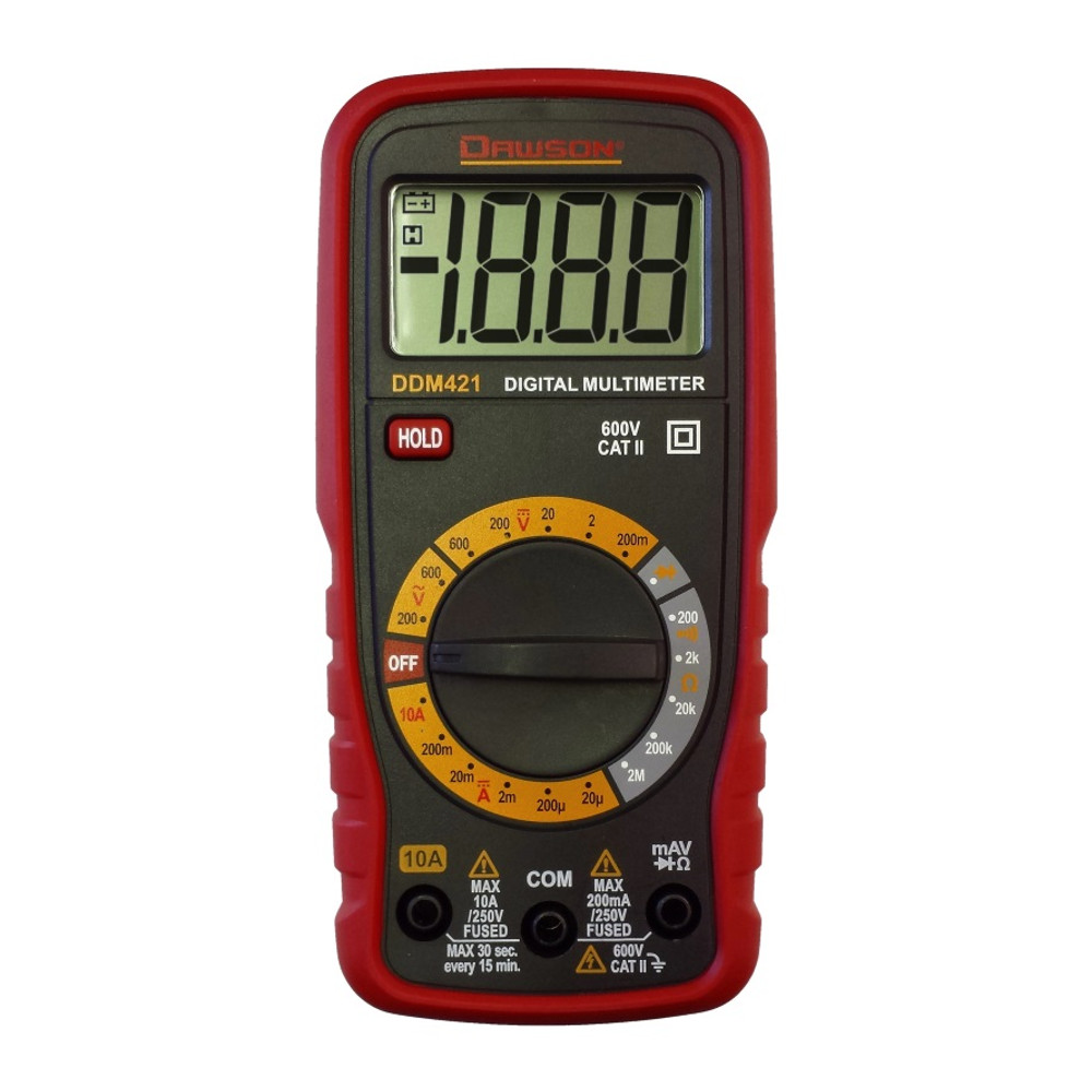 Digital Multimeter Autoranging True Rms Dmms Circuit Specialists Variablerangeledvoltmeterprojectcircuit Dawson Ddm421 Compact