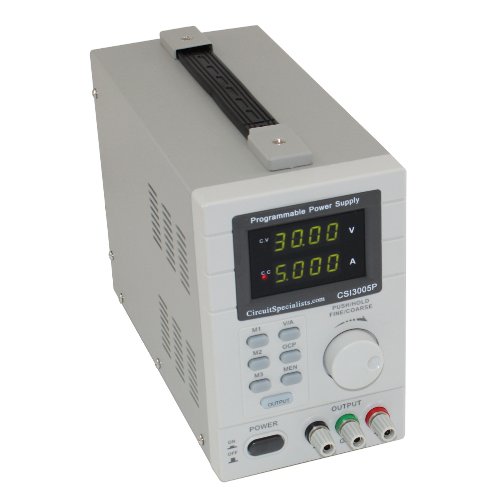 PROGRAMMABLE DC BENCH POWER SUPPLY