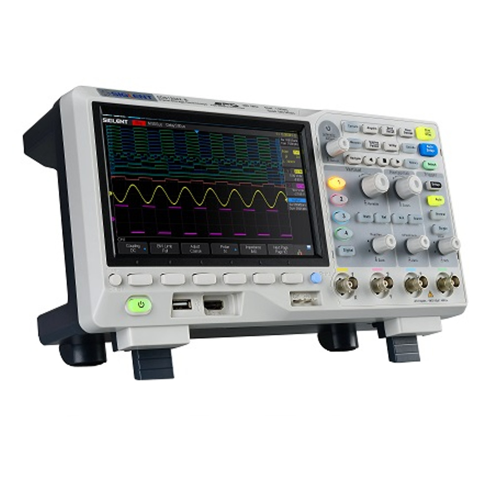 SDS1104X-E 100MHz 4 Channel Digital Super Phosphor Oscilloscope