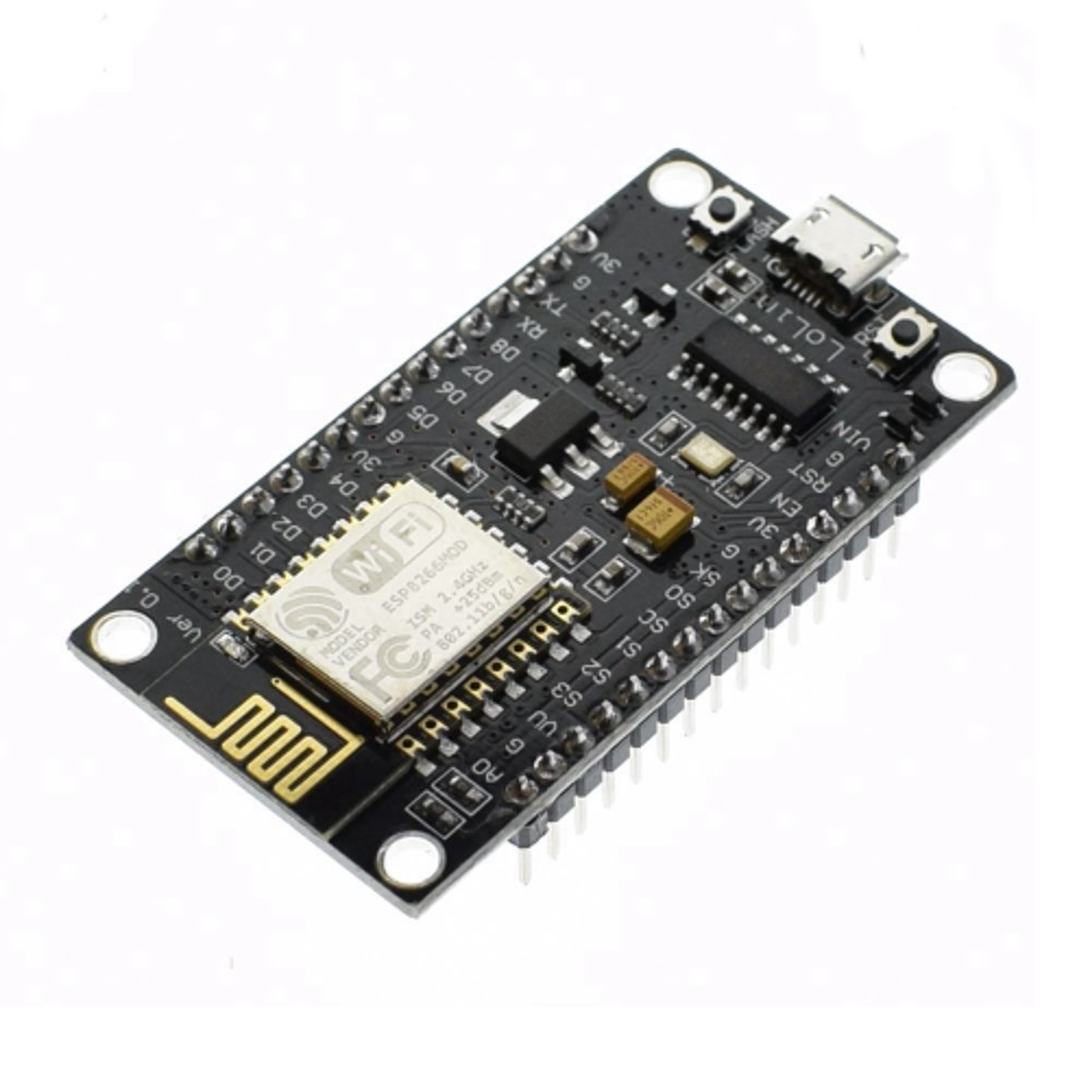 WIFI MICROCONTROLLER WITH INTEGRATED TCP/IP