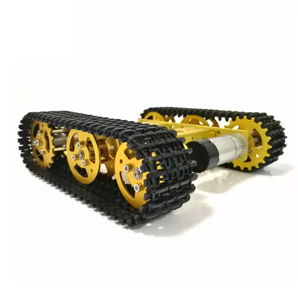T100 TRACKED TANK CHASSIS, ALUMINUM ALLOY