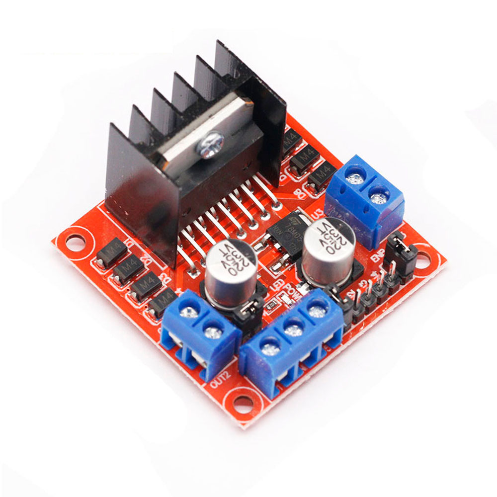 Dual H Bridge Stepper Motor Driver Controller Board L298 Circuit Diagram