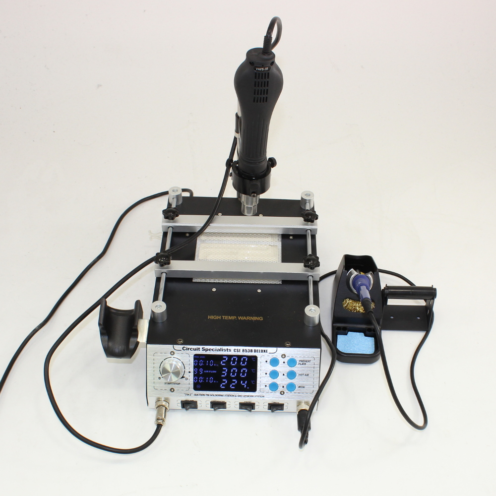 CIRCUIT SPECIALISTS DELUXE PREHEATING PLATE AND REWORK STATION