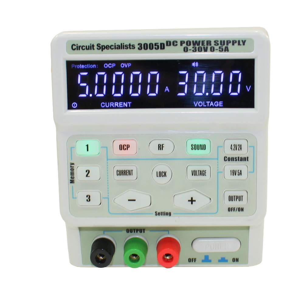 0-30Volt 0-5 Amp Digital Program-Controlled Switching DC Power Supply