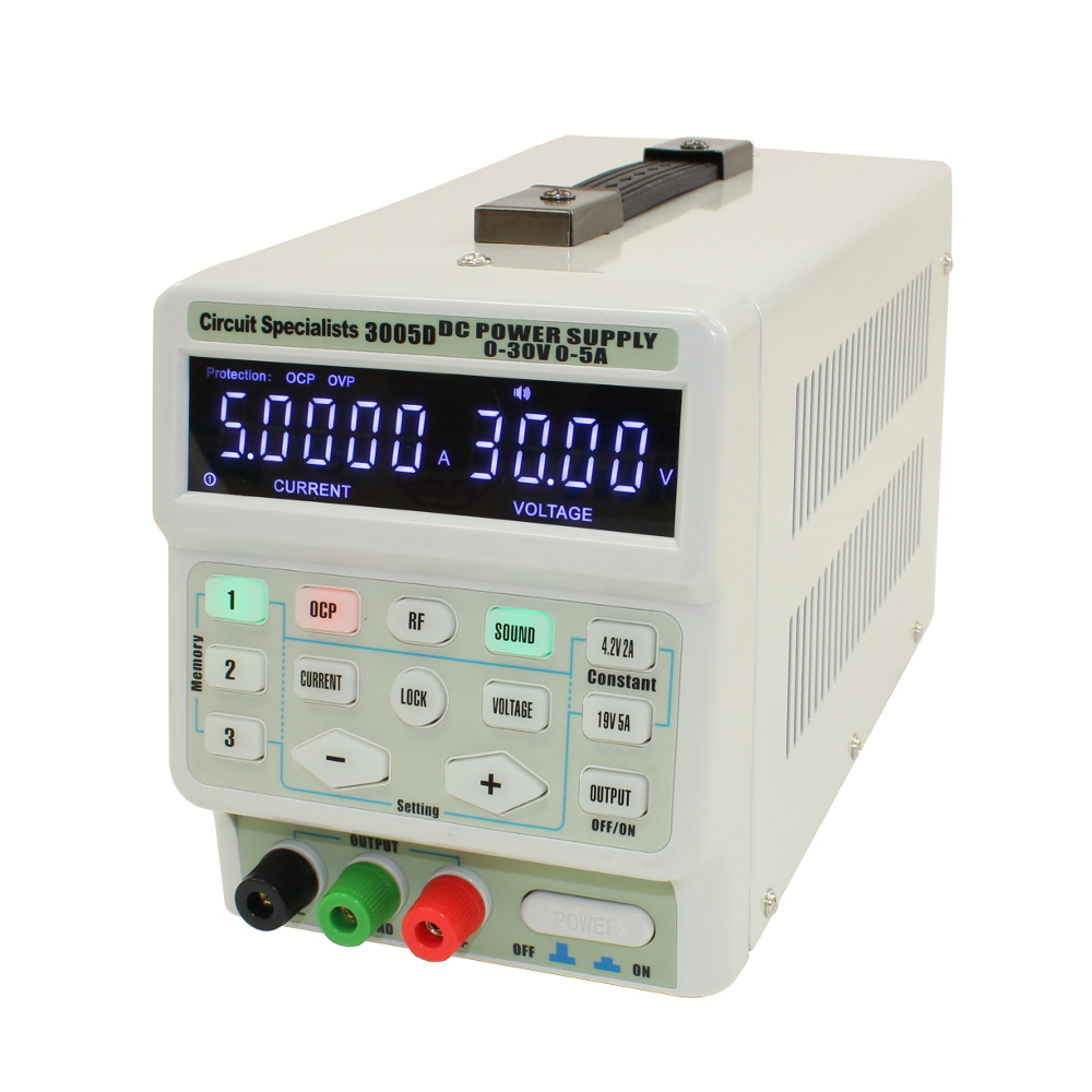 0-30V, 0-5A, ADJUSTABLE LINEAR POWER SUPPLY