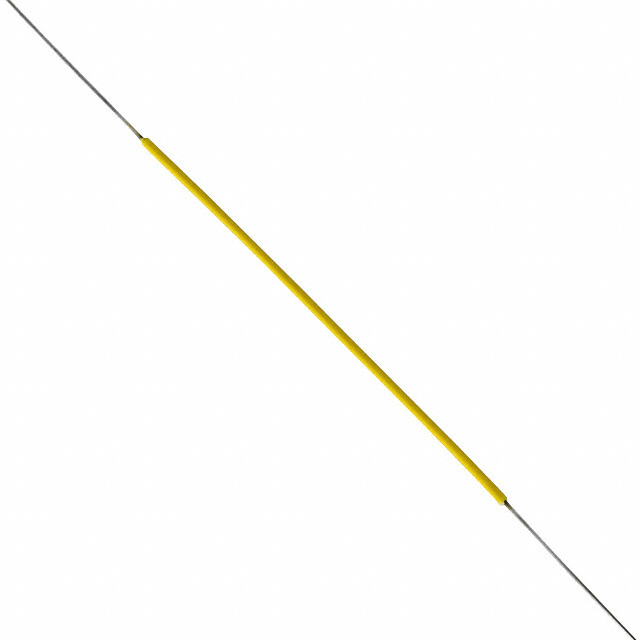 Pre Cut And Stripped Wire   30 Awg 7 Pre Cut Pre Stripped Wire W 5 Yellow Insulation