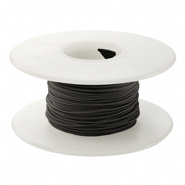 BLACK 26AWG 100FT ROLL