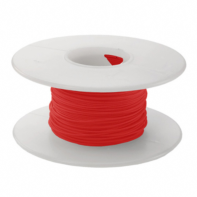 RED  30AWG 100FT ROLL