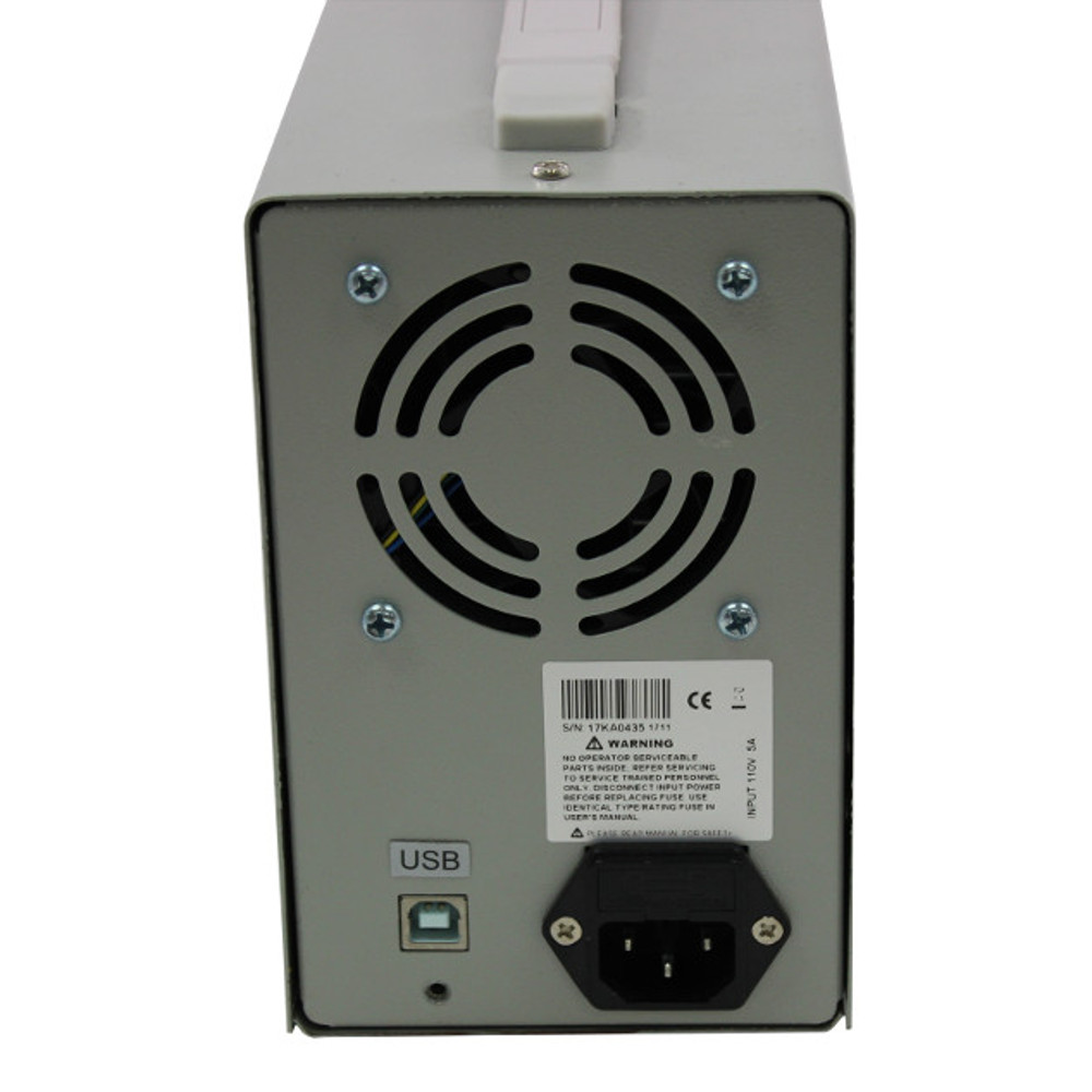 PPS3E004 0-300V, 0-400mA, 120W Programmable Power Supply
