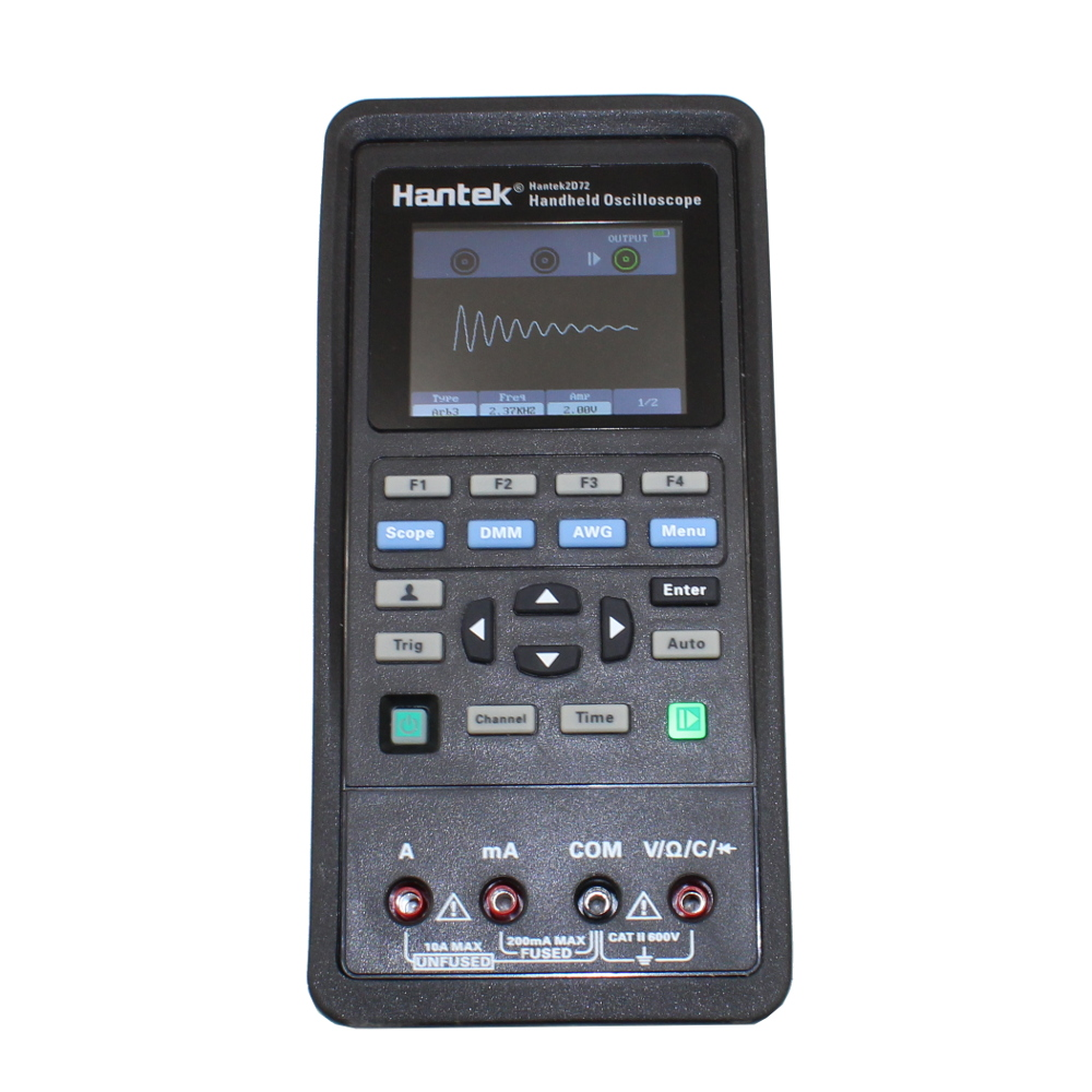 Hantek2D72 70 MHz Oscilloscope, Waveform Generator & Digital Multimeter