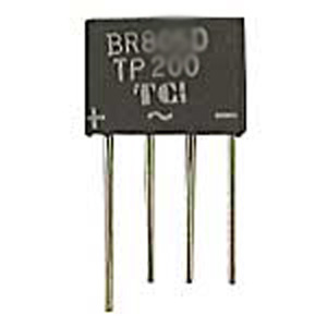 100V 2A BRIDGE RECTIFIER