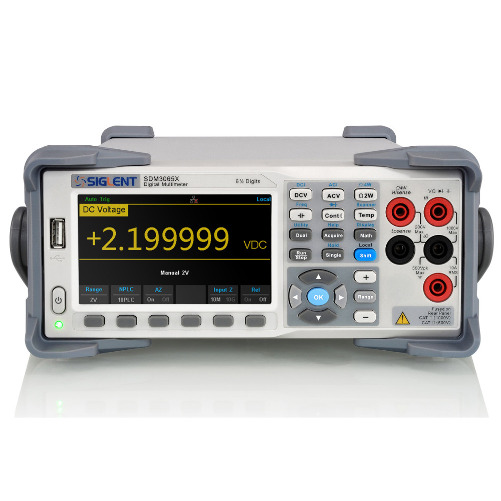 Siglent SDM3065X 6 1/2 Digit Dual-Display Digital Multimeter