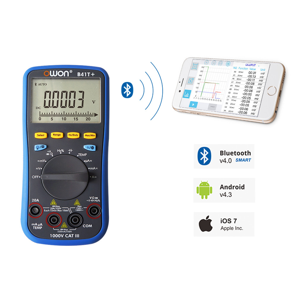 OWON B41T+ DIGITAL MULTIMETER