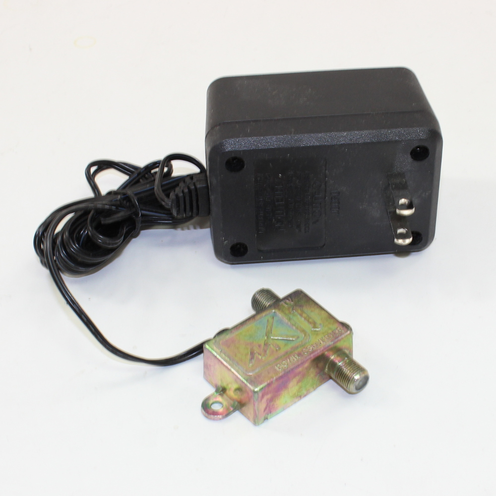 24 Volt 350 mA DC Wall Power Adapter with Coax Tap