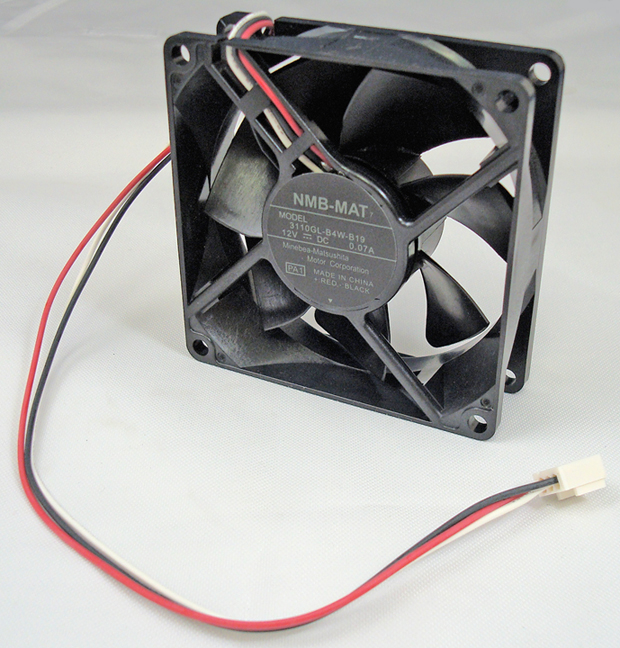 80 x 80 x 25mm 12VDC Axial Fan (3110GLB)