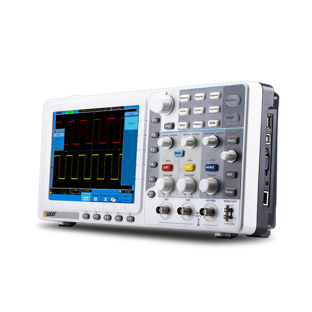OWON SDS5052E-V 50MHz 2Ch Digital Oscilloscope with VGA