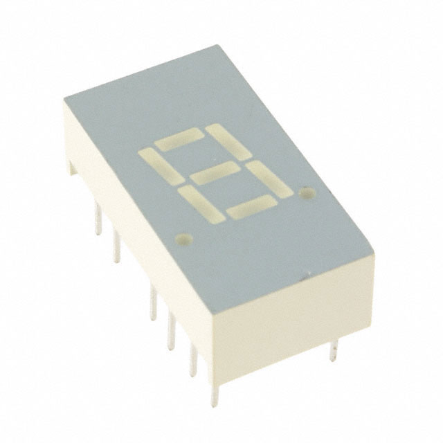 COMMON ANODE 7-SEGMENT LED DISPLAY
