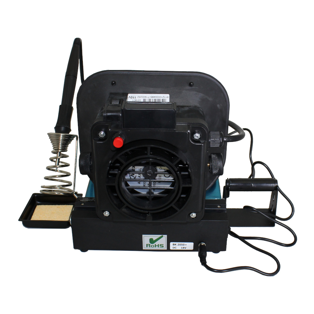 BlackJack SolderWerks BK2050+ Soldering Station with Working Platform & Fume Extractor