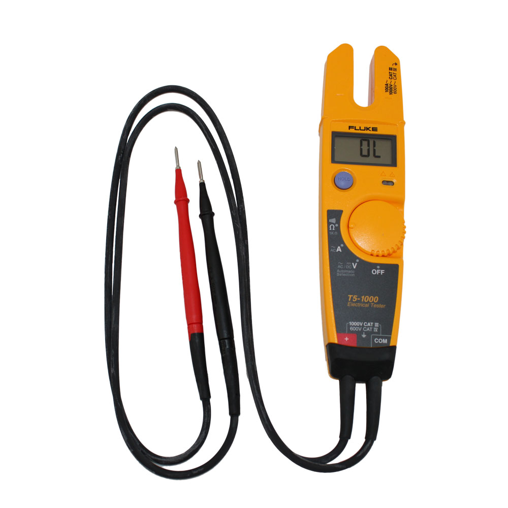 Fluke Electrical Testers : V voltage continuity current tester fluke t