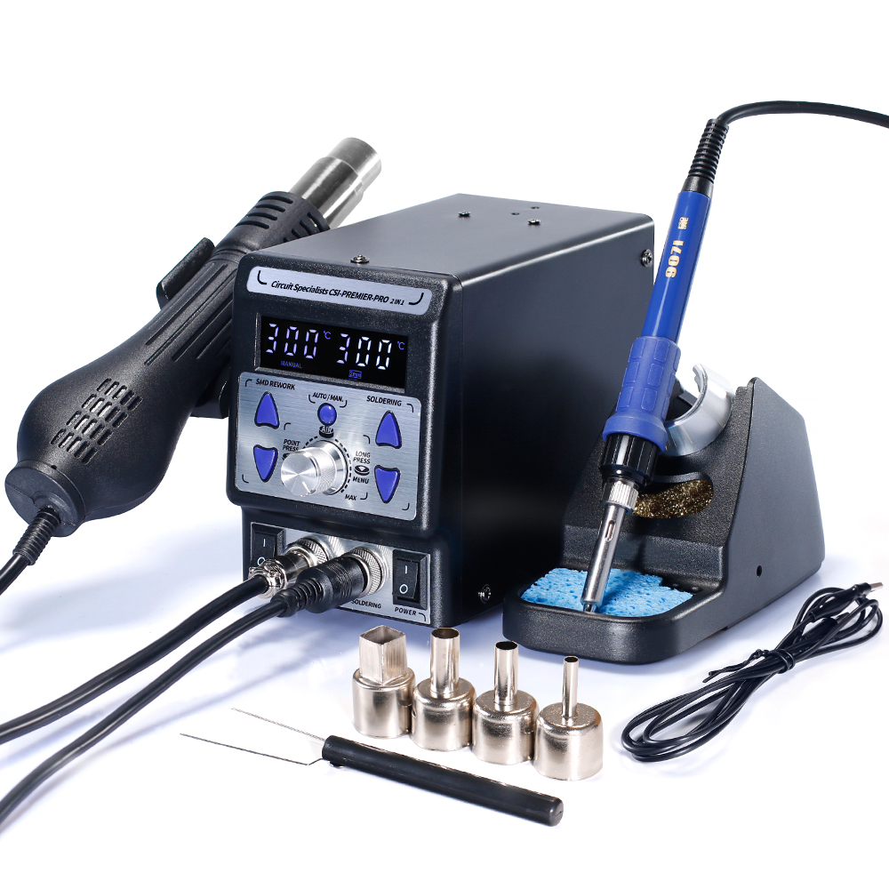 REWORK AND SOLDERING STATION