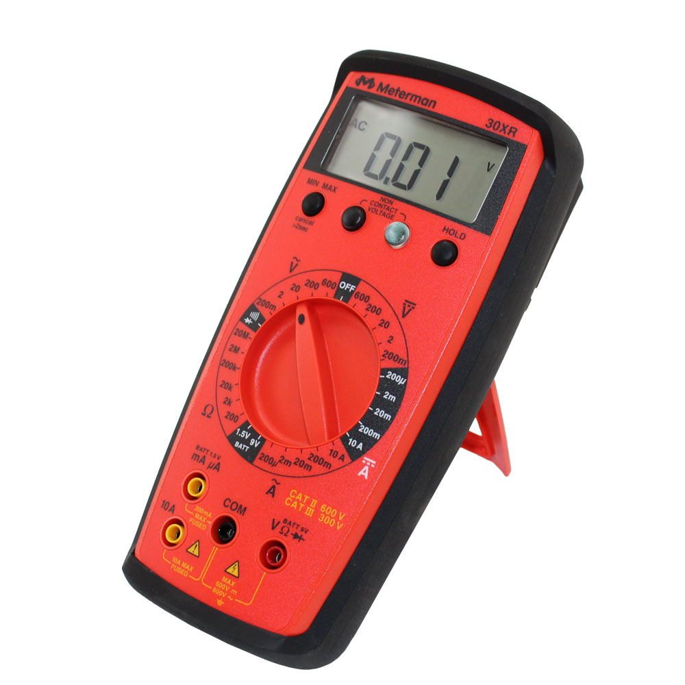 30xr Multimeter With Non Contact Voltage Detector Noncontact Ac 600v Electrical Circuit Wire Tester