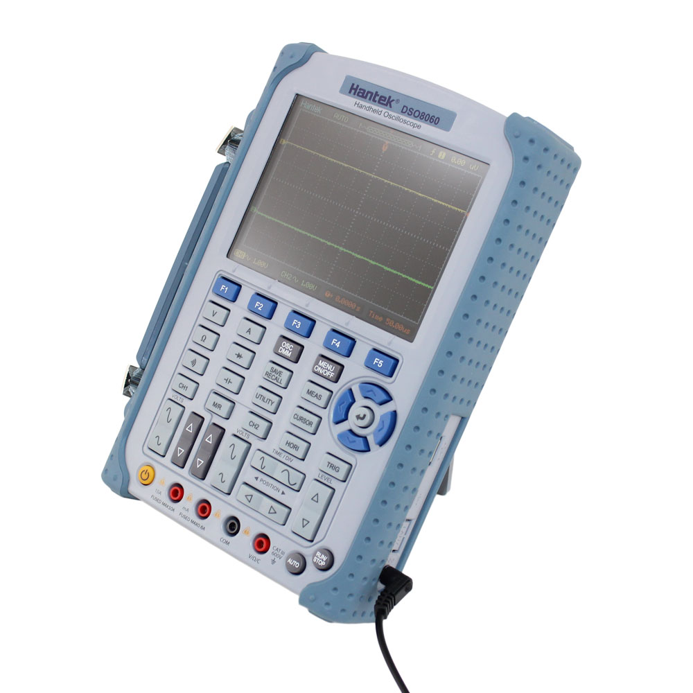 Portable Digital Oscilloscope : Hantek dso mhz handheld oscilloscope and multimeter