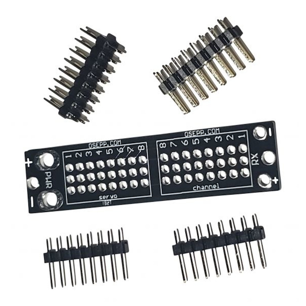 SERVO POWER BOARD (UNASSEMBLED WITH FULL PINS), COMPARABLE TO SERVOCITY # SC71352