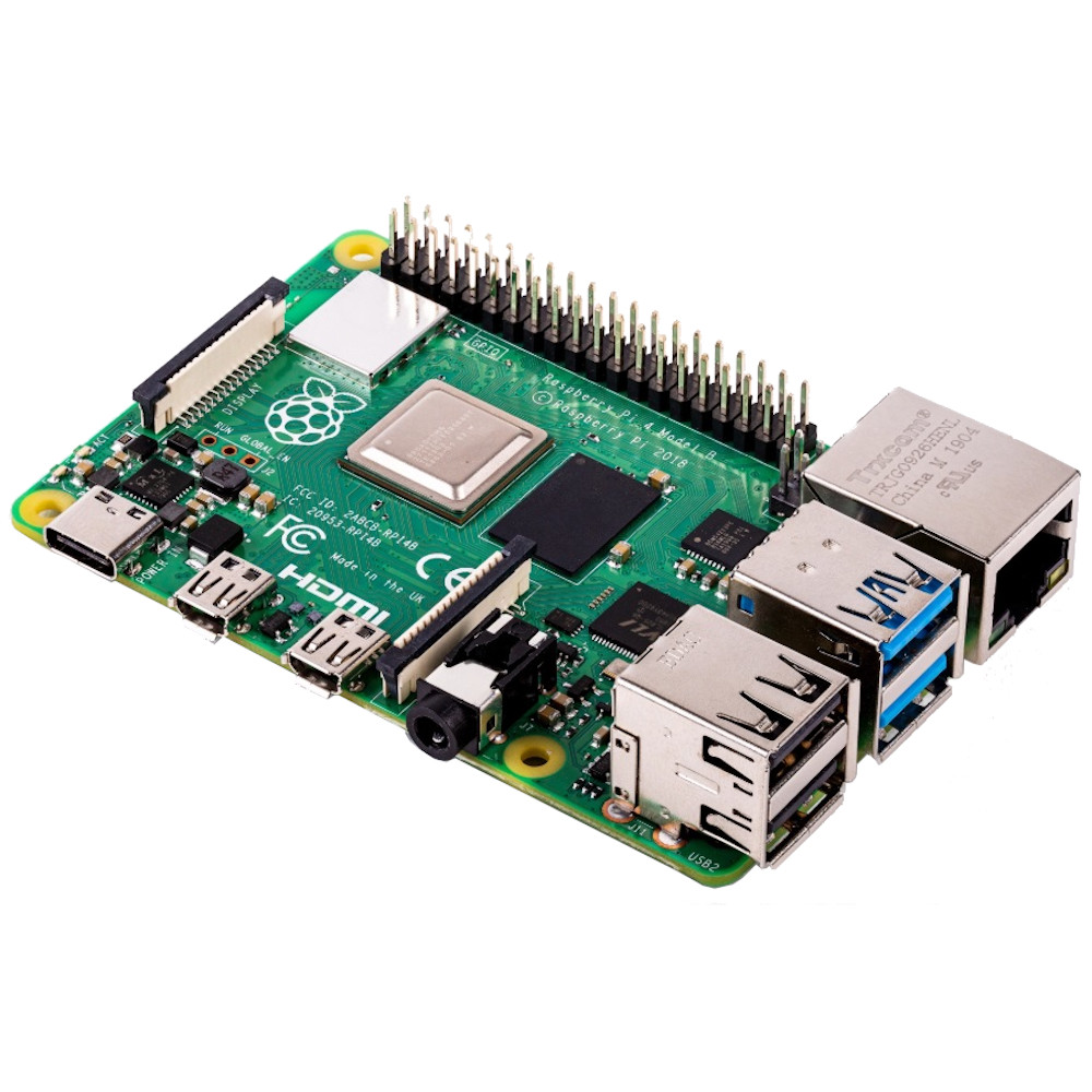 THE LATEST RASPBERRY PI VERSION DUAL BAND 2.4GHZ AND 5GHZ IEEE 802.11.B/G/N/AC WIRELESS LAN