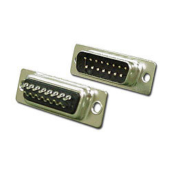 15 Pin Male D-Sub Connector