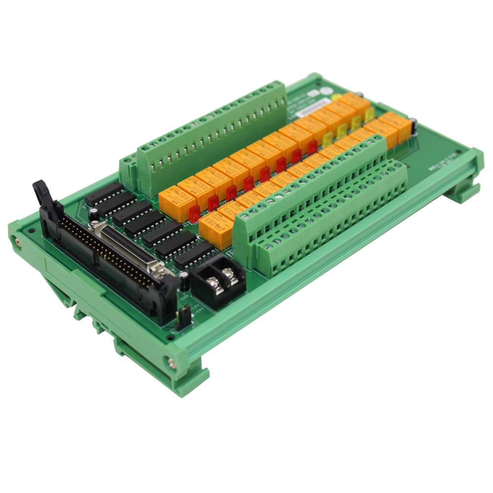 24 Channel Relay Output Terminal Board 12V Coil