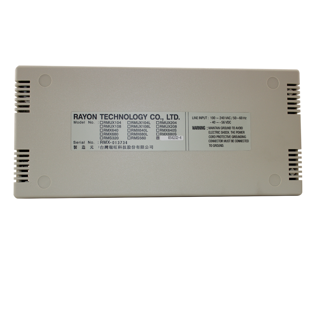 4-Port Isolated RS-232/422/485 Expansion Box for C584