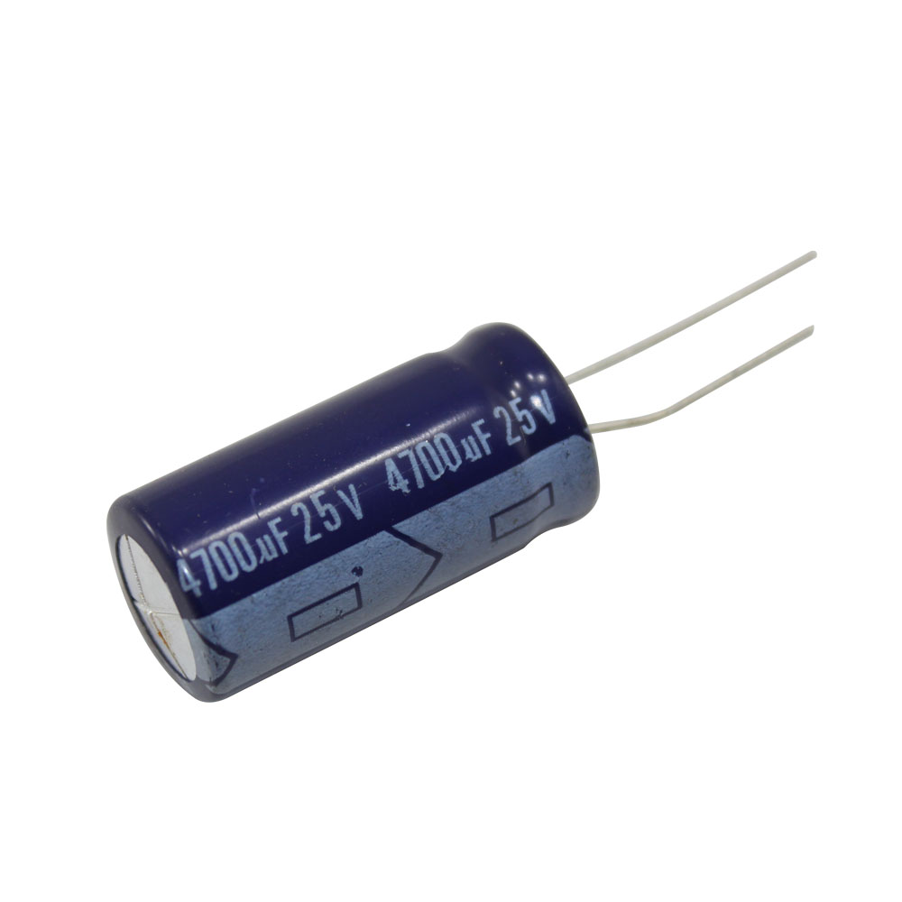 4700 181 F 25v Miniature Radial Electrolytic Capacitor