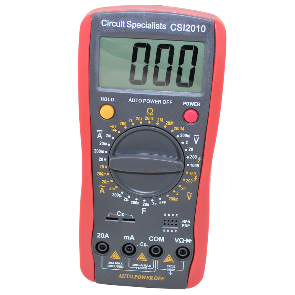 MULTIFUNCTION DIGITAL MULTIMETER