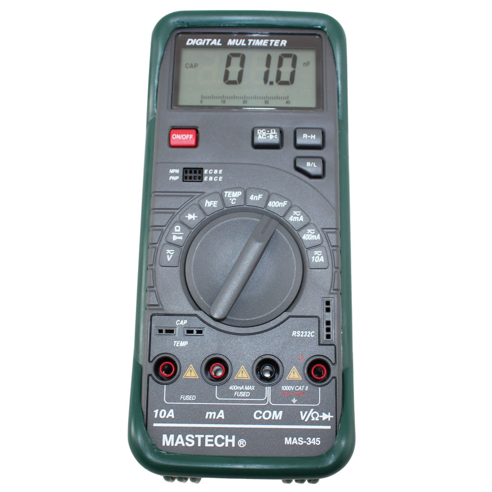 Intelligent Digital Multimeter with RS-232 PC Interface