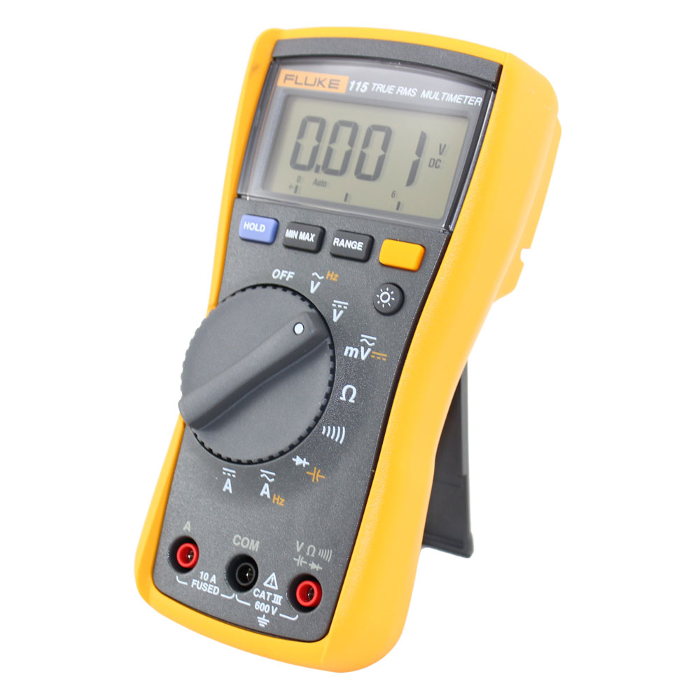Fluke 115 Multimeter : New field service technician s digital multimeter fluke