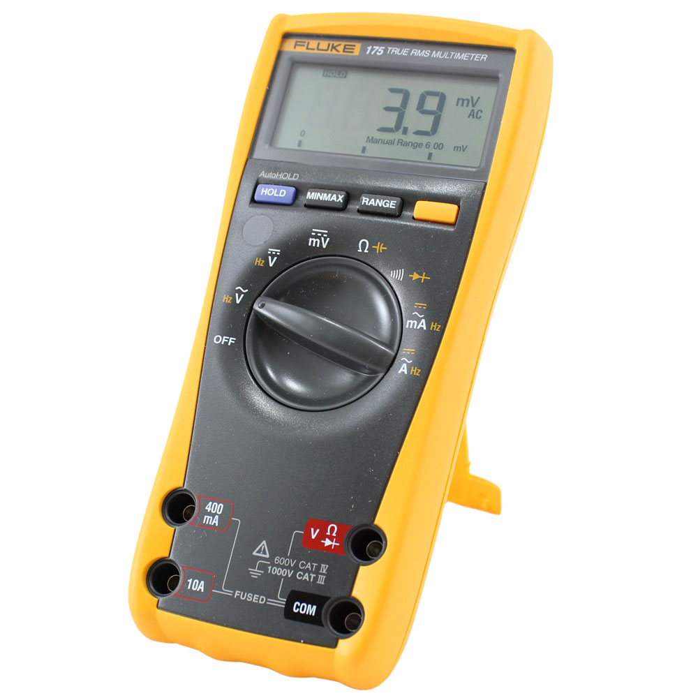 Fluke Digital Voltmeter : New true rms digital multimeter fluke circuit